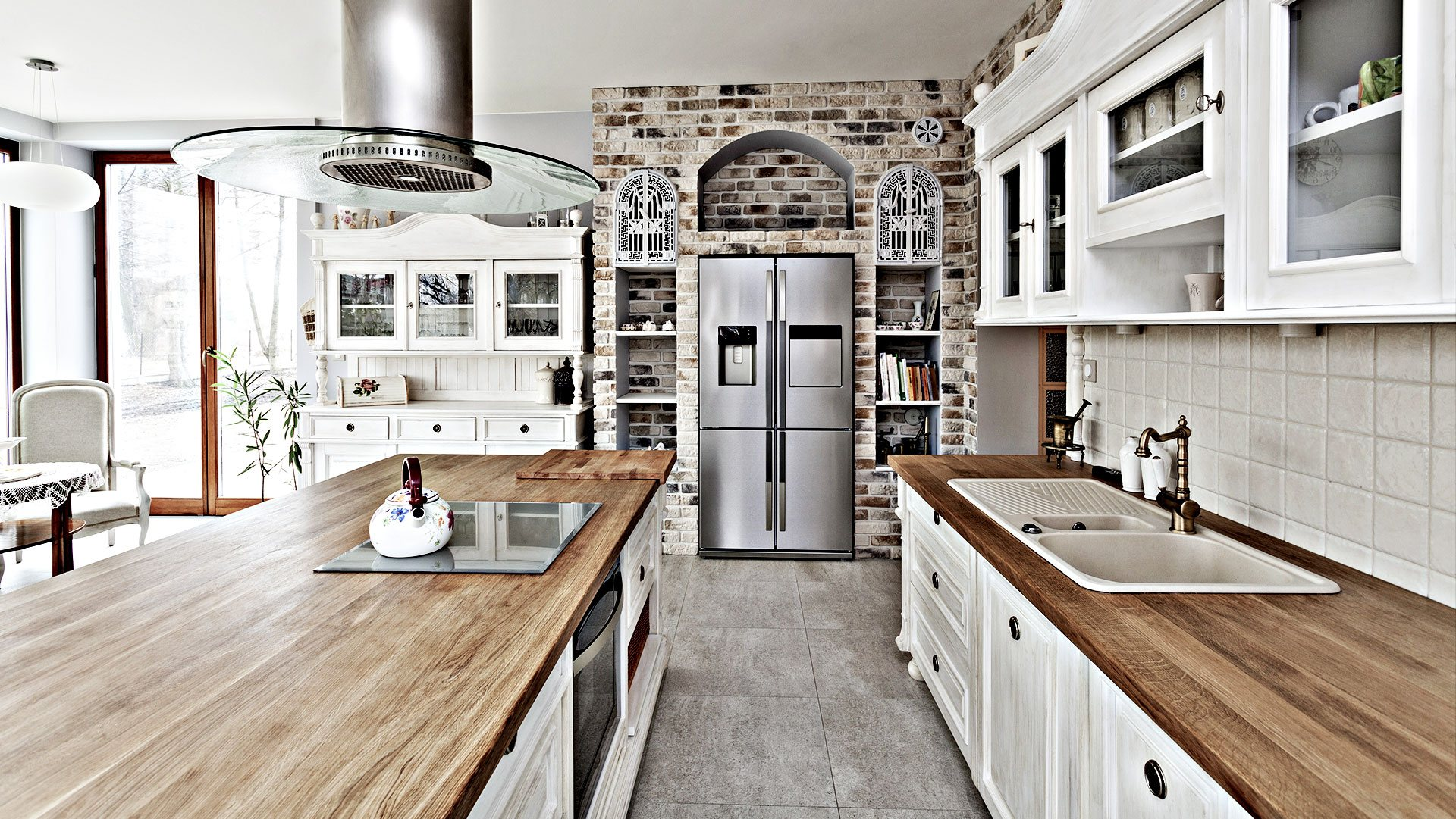 Edward A. Carpentry Corp. Remodeled Kitchen 1
